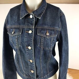 J.Crew Denim Jean Jacket Size Medium